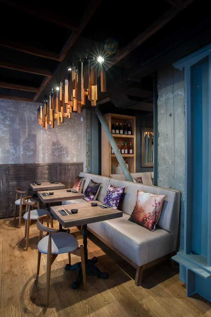 House design kurtki - London Sushi Restaurant Murakami Has All The Elements To Be A Huge Success Story