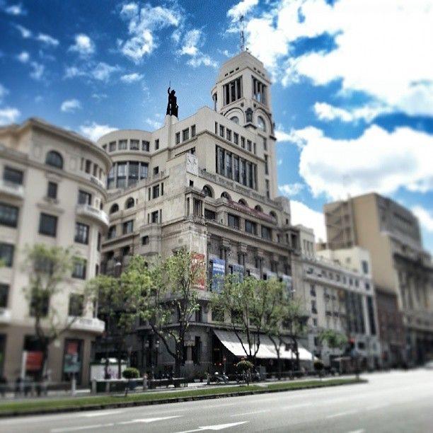Círculo de Bellas Artes in Madrid, Madrid Rooftop Restaurant - views of city!
