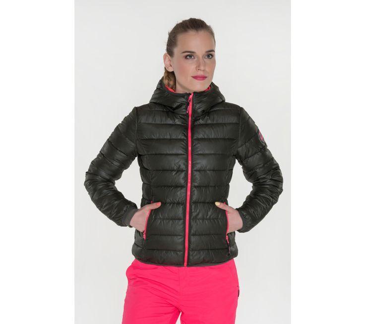 Dámská bunda s kapucí a kontrastními zipy Sam 73 | modino.cz #modino_cz #modino_style #style #fashion #sam73