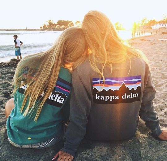 Sweet sisterhood! Zeta Rho- University of San Diego