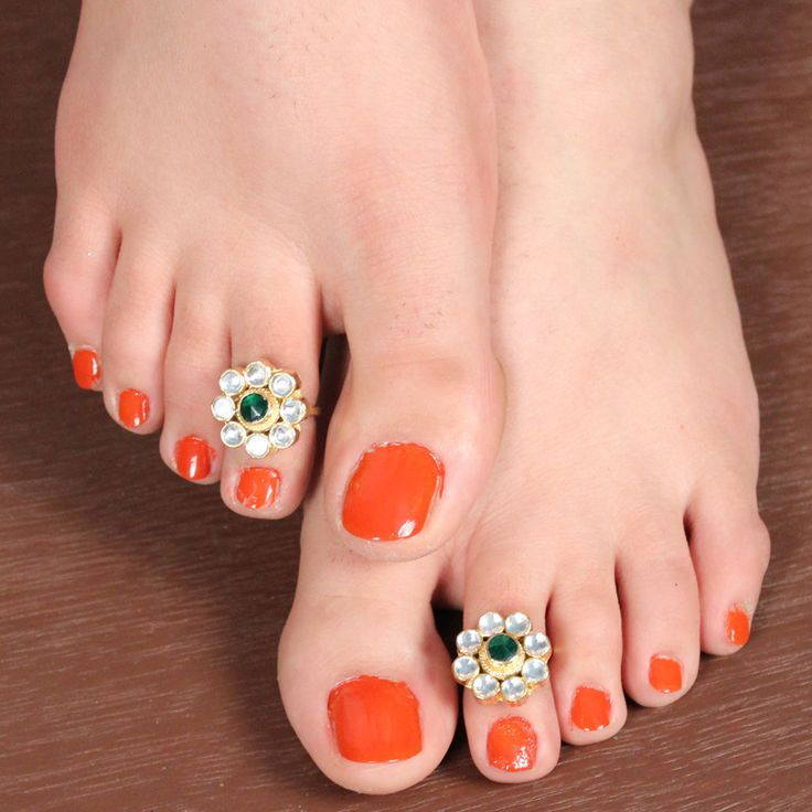 AMILAH TOE RING by Indiatrend. Shop Now at WWW.INDIATRENDSHOP.COM