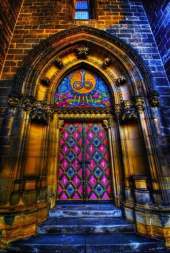 Vysehrad, Prague - Beautiful door!