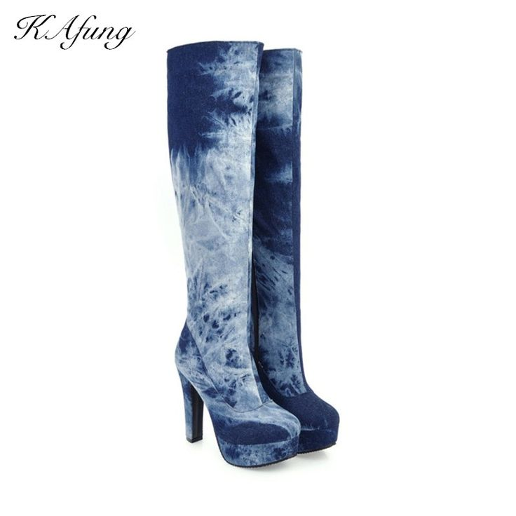The Winter Edition Of The New Boots Cowboy Boots On The Street High Heels And Waterproof Platform Boots Women's Boots Zipper -  Check Best Price for. This Online shop give you the discount of finest and low cost which integrated super save shipping for The winter edition of the new boots Cowboy boots on the street High heels and waterproof platform boots Women's boots zipper or any product promotions.  I hope you are very lucky To be Get The winter edition of the new boots Cowboy boots on…