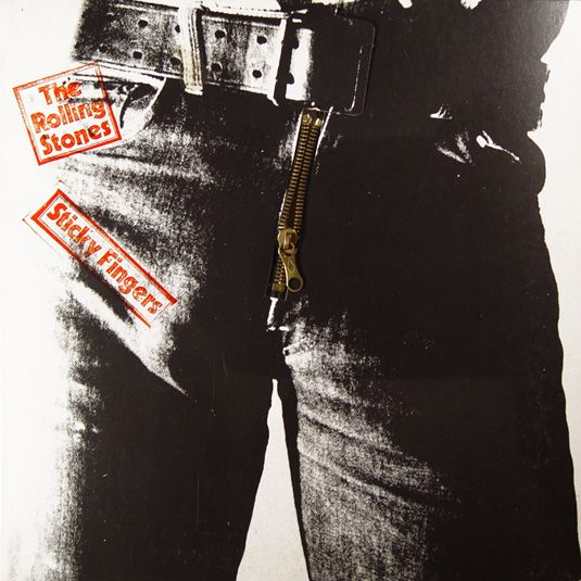 Rolling Stones - Sticky Fingers - 1971 album cover