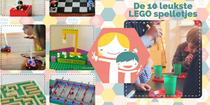 De 10 leukste DIY LEGO spelletjes – vakantie anti verveel tips