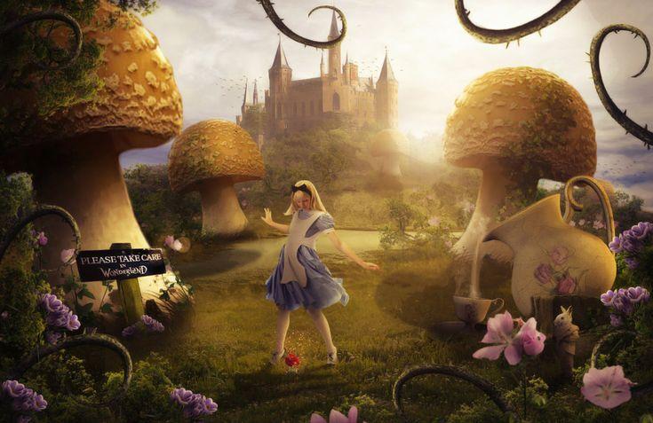 Alice In Wonderland by ElementOfOne1 on deviantART