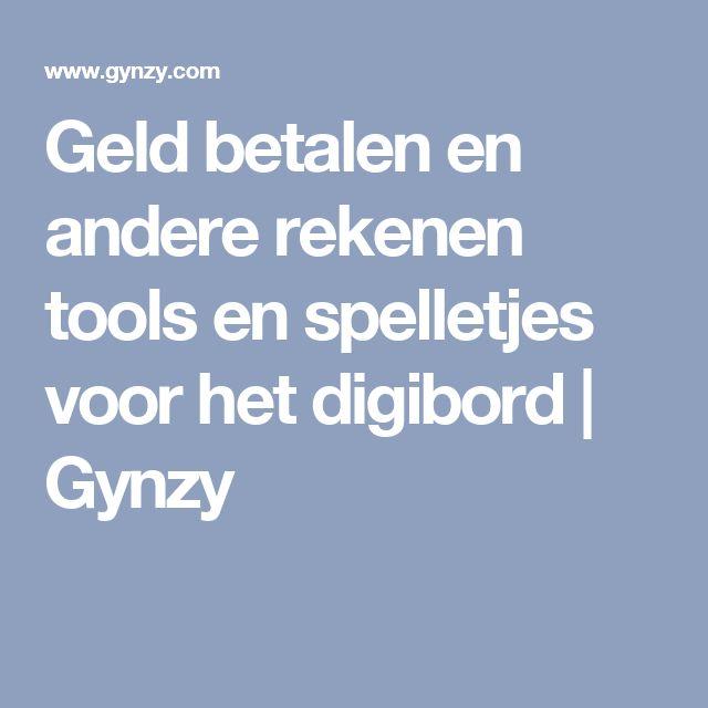 Geld betalen en andere rekenen tools en spelletjes voor het digibord | Gynzy