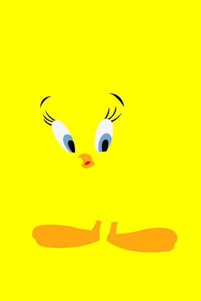 Tweety | Looney Tunes Minimalistic Artwork Poster Collection