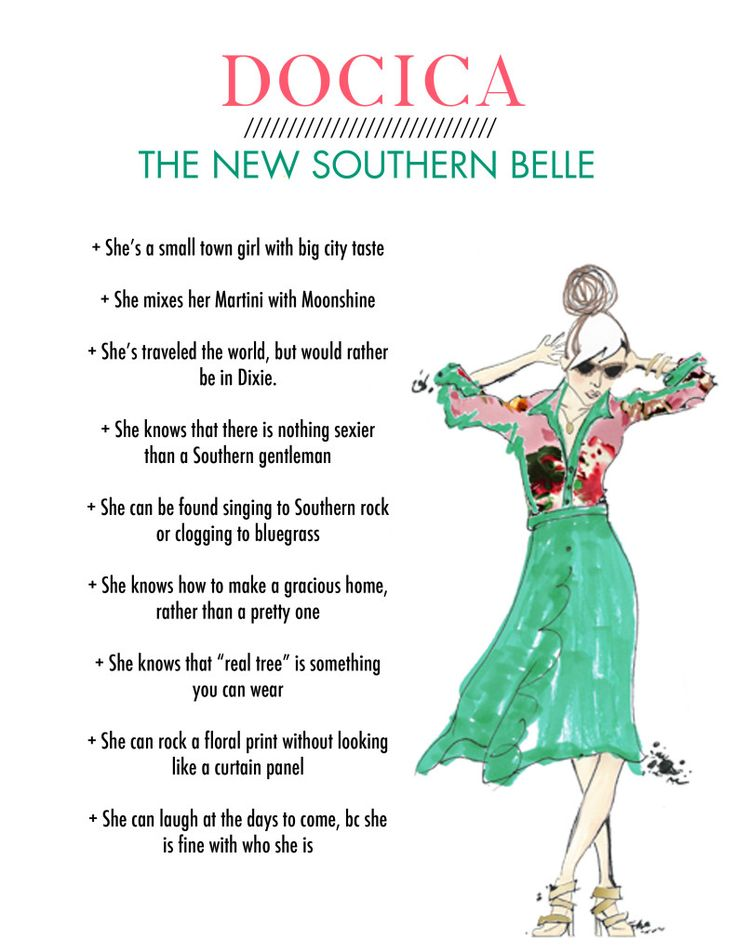 DOCICA - The New Southern Belle @Docica Magazine