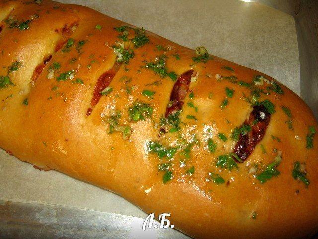 Стромболи - пицца-рулет