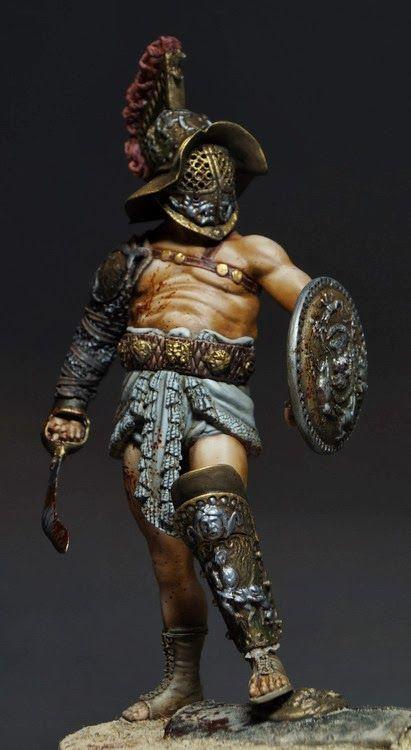 Gladiator by Sergey Popovichenko