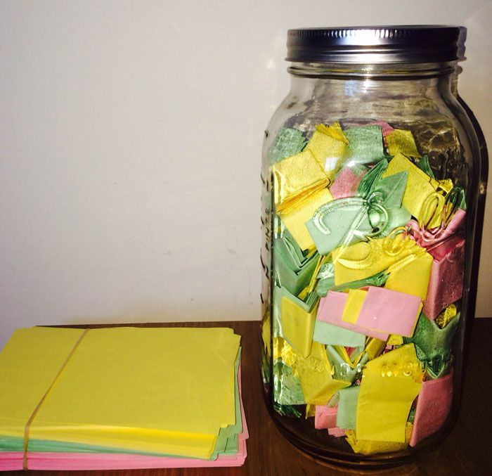 Unique Note Jar Ideas On Pinterest Jar Notes - Boyfriend puts 365 love notes jar girlfriend read year