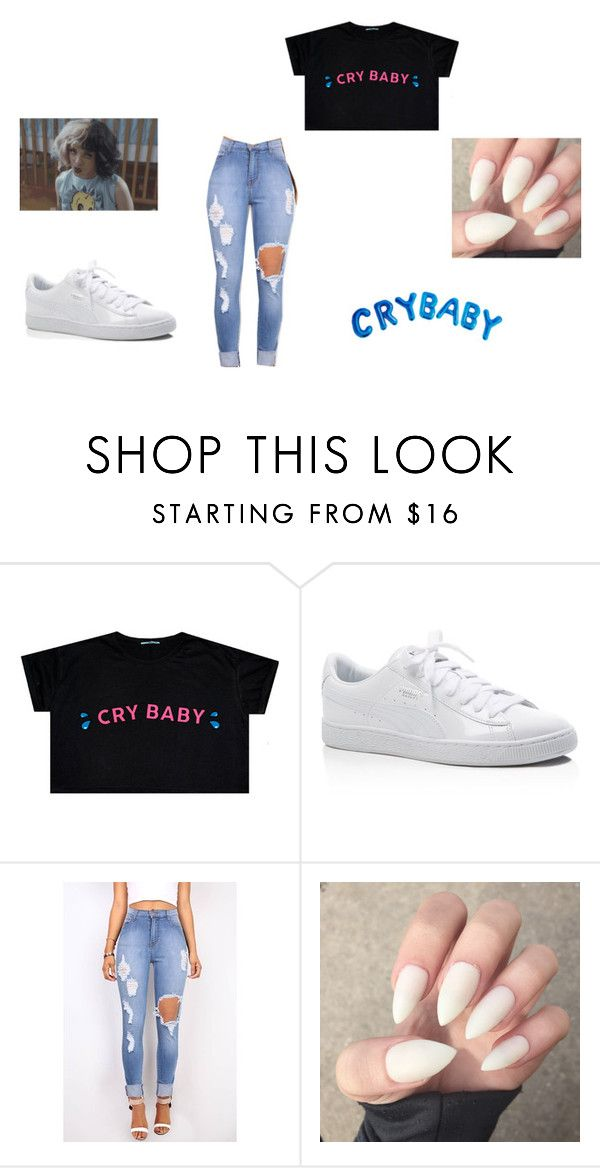 """Melanie Martinez"" by shadiamiller on Polyvore featuring Puma"