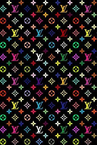 Colourful Louis Vuitton Monogram