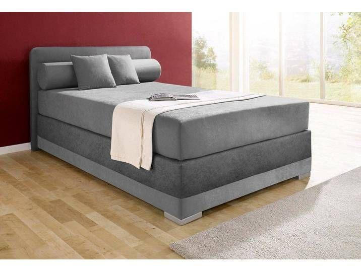 Maintal Boxspringbetten 140x200 Cm H3 Grau 140x200 Bettgrau Boxspringbetten Grau Maintal In 2020 Maintal Home Decor Furniture