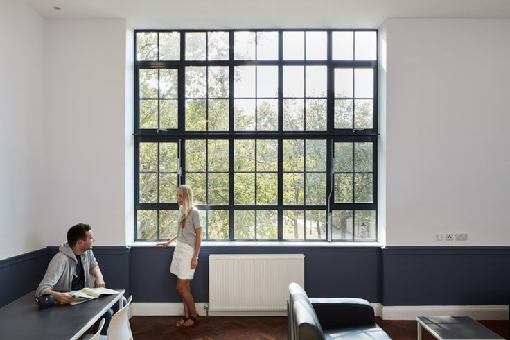 This was an architectural photography shoot of the new student halls and accomodation that has been created by overhauling the old Southward town hall. The architects were Jestico + Whiles