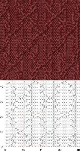 Kira knitting: Knitted pattern no. 73