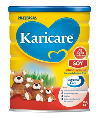 Karicare Soy Formula - All Ages From Birth  http://www.shopnewzealand.co.nz/en/c/Karicare