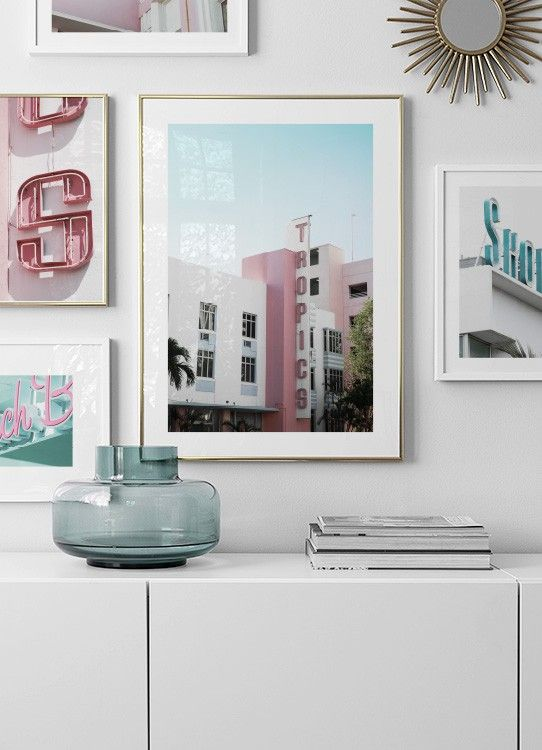 Tropics Poster Online Wall Art Flat Decor Home Decor Wall Art