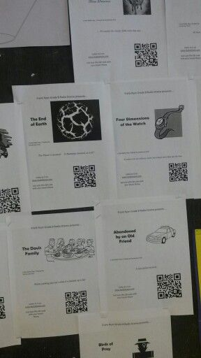 Grade 8 Drama students' radio plays are now published as podcasts on Audioboom.com