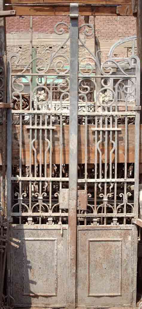 French Wrought Iron Doors