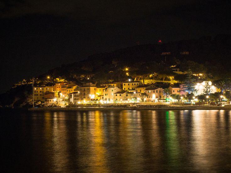 Night View of Marciana Marina | Marciana Marina - Elba Island
