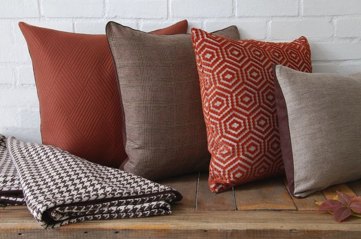 Fall Collection: pillows and blankets