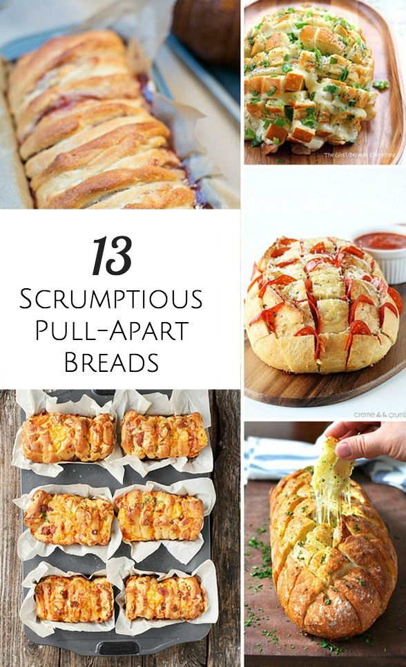 Delicious pull-apart bread recipes the whole family will enjoy!