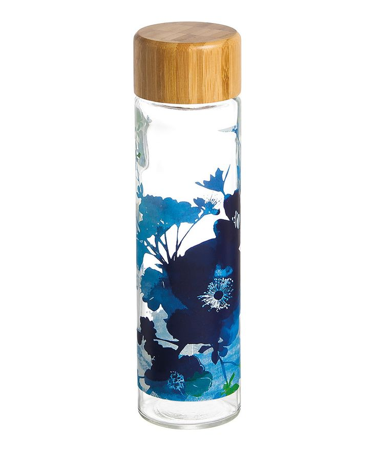 Look at this Bella Bamboo-Lid Glass 20-Oz. Water Bottle on #zulily today!