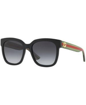 Gucci Sunglasses, GG0034S - Black