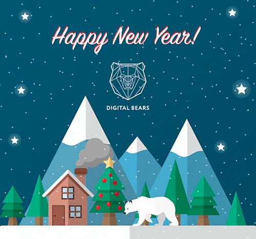 We wish you all the happiest new year ever!