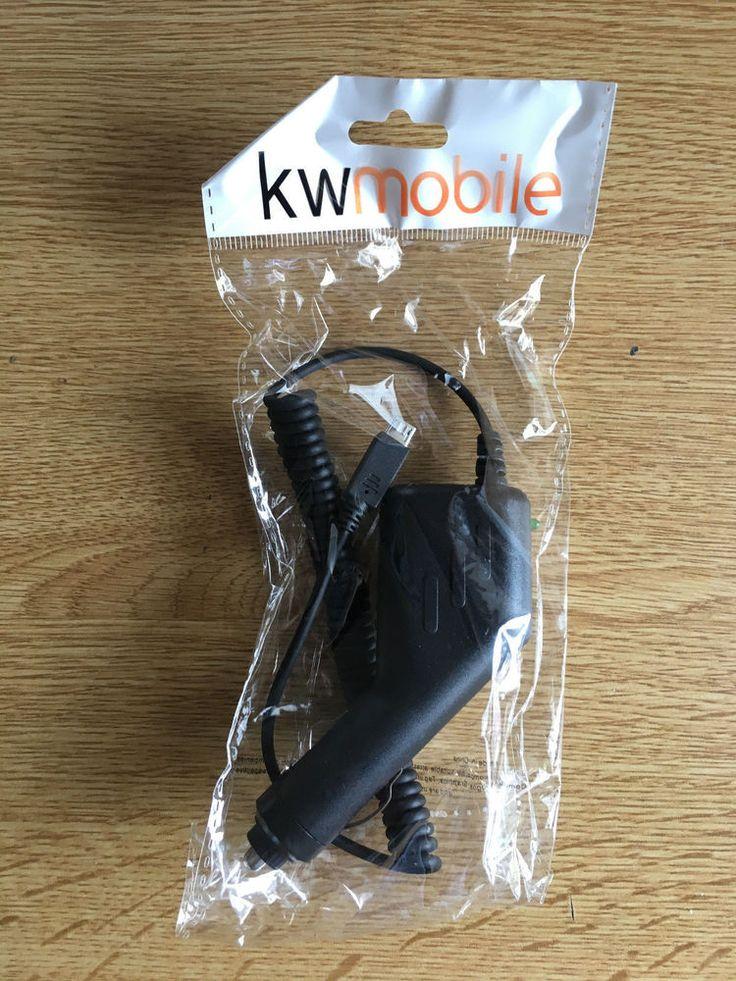 kwmobile® CARICABATTERIE PER AUTO per Google Nexus 10, Micro USB