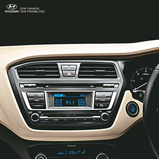 Enjoy non-stop entertainment with #TheElitei20 2 DIN Audio with 1GB memory music system. #navjivanhyundai