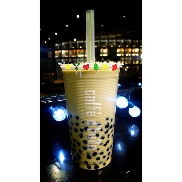 #Repost @yichingsays Damn I make the yummiest matcha bubble milk tea. Mwahhahahahaha