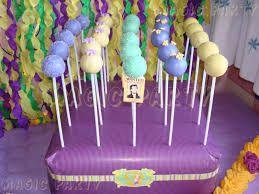 Résultats de recherche d'images pour «decoracion de cumpleaños de rapunzel enredados»