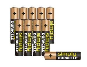 Simply Micro (AAA) Alkaline Batterie  10er Pack Duracell   05000394111905  Hervoragende Duracell Qualität im praktischen Vorteilspack! Zuverlässige dauerhafte Leistung Vorratspack 10 Stück Dank der garantierten Duracell Power besonders für Geräte mit geringem oder mäßigem Verbrauch geeignet. Z. B. Radios Fernbedienungen Uhren etc.  Marke: EAN: 05000394111905 MPN: #camping #outdoor #zelten #beach #strand #wintercamping #zeltplatz #caravaning #wohnwagen #urlaub #camp #campingmultistoreCampingmultistore.de