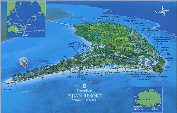 Tempting Fiji resort island