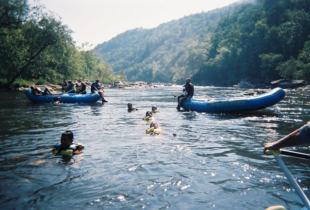 The French Broad River is the world's 3rd oldest river, behind the Nile (1st) and the New River (2nd), which also flows through North Carolina