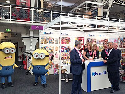 Minions on our Stand