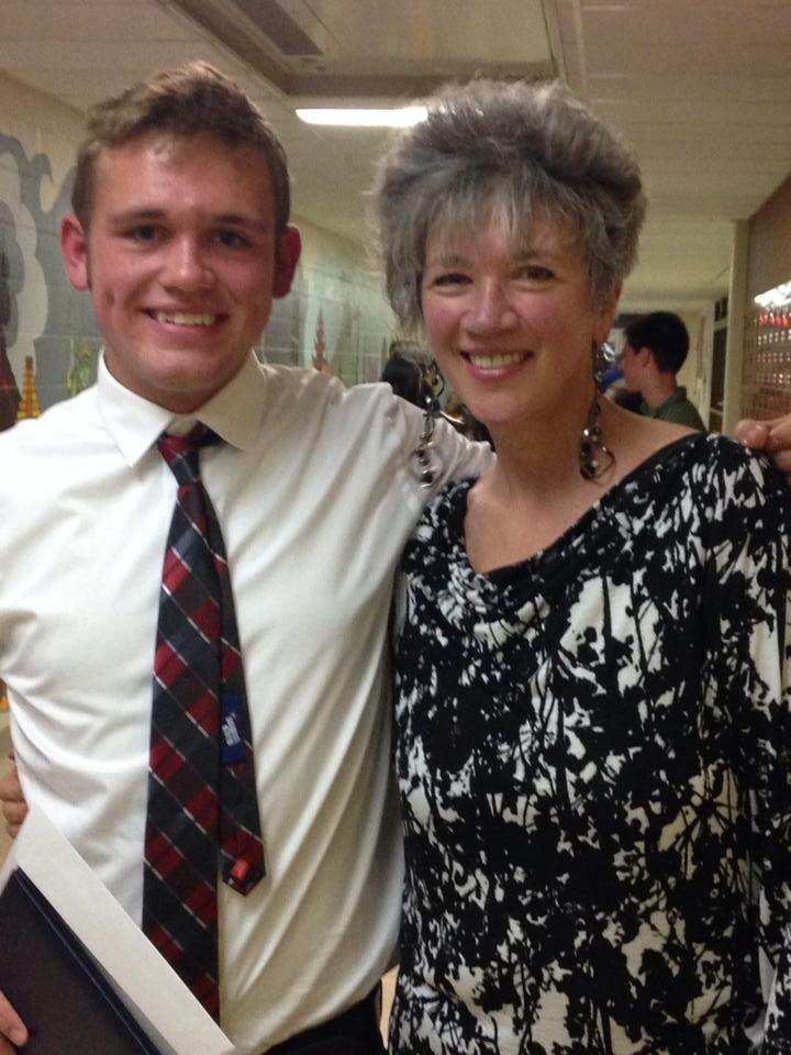 Kirby & me at KHS 2014 graduation