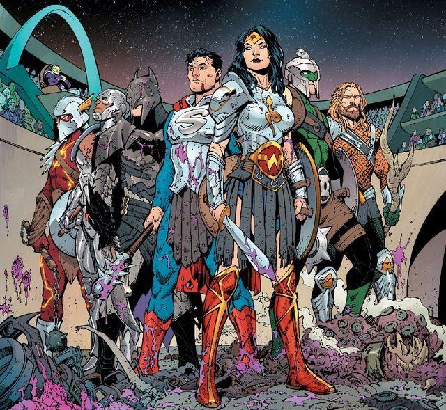 Os Gladiadores da Justiça.