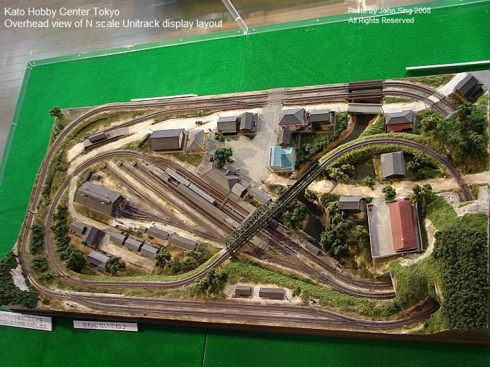 Tokyo n scale layout