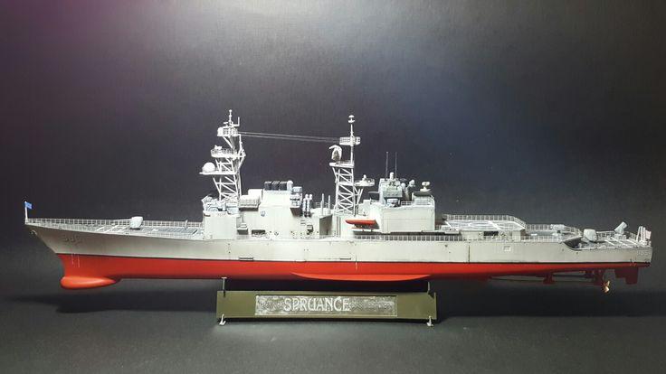 USS Cushing 1/350