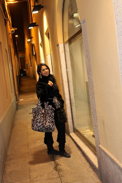 EIDesign Glamour: Black, Gold & Animalier