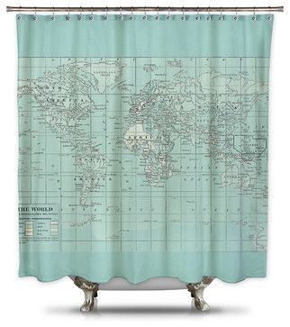 Catherine Holcombe Pillow Fabric Shower Curtain Standard Size