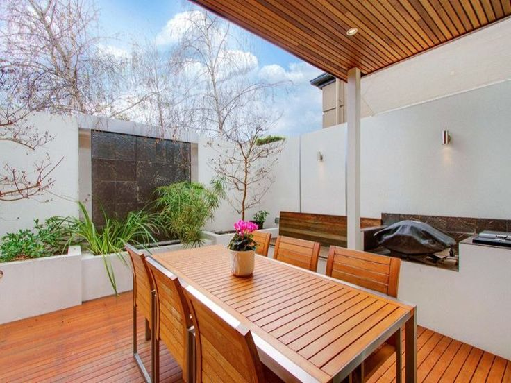 Outdoor Kitchen With Place For Weber Q Outdoor Living Pinterest