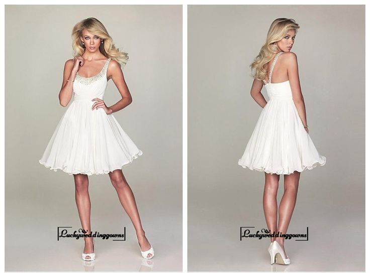 Alluring Chiffon Scoop Neckline Short A-line Cocktail Dress http://www.ckdress.com/alluring-chiffon-scoop-neckline-short-aline-cocktail-dress-p-1277.html  #wedding #dresses #party #Luckyweddinggown #Luckywedding #design #style #weddingdresses #bridaldresses #love #me #cute #beautiful #girl #shopping #lovely #clothes #instagood #follow #fashion