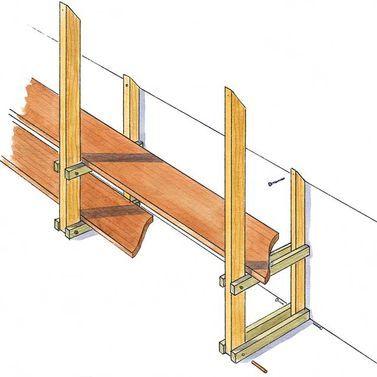 Kniestock-Regal: Schritt 12 von 13