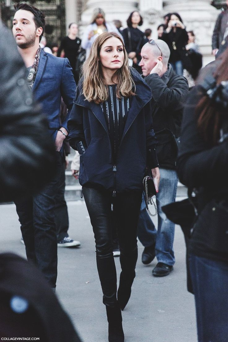 Nice blackout. #OliviaPalermo in Paris.