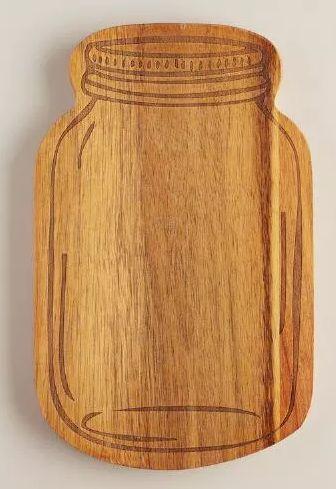Darling mason jar cutting board - only $9.99!